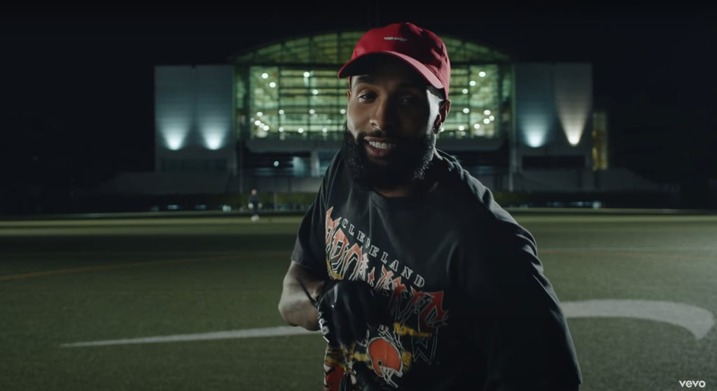 "Odell Beckham Jr. in the ""Laugh Now Cry Later"" Music Video"