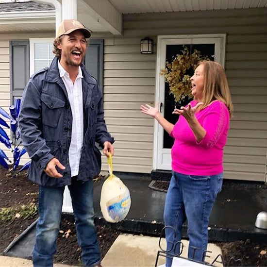 Matthew McConaughey Delivering Thanksgiving Turkeys 2017