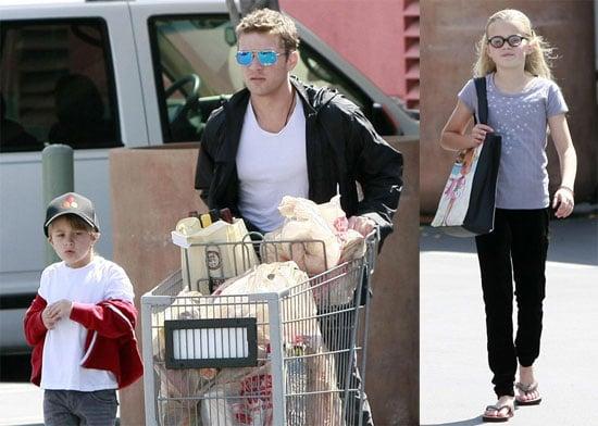 Photos of Ryan, Ava, Deacon