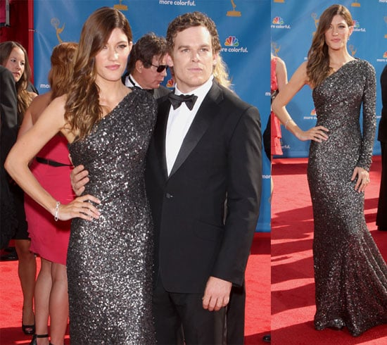 Dexter's Michael C. Hall and Jennifer Carpenter at the Emmys