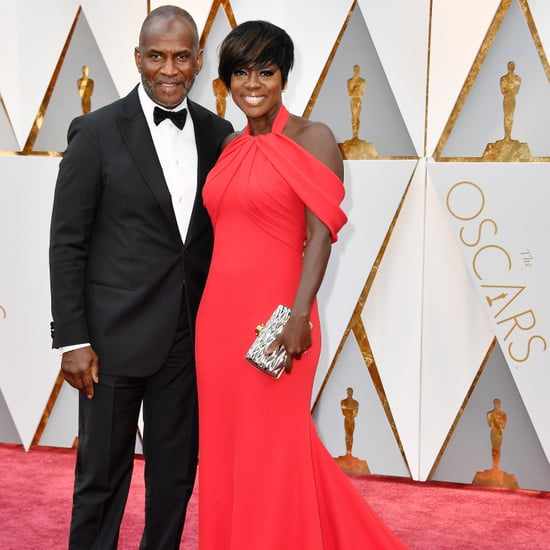 Viola Davis and Julius Tennon at the 2017 Oscars