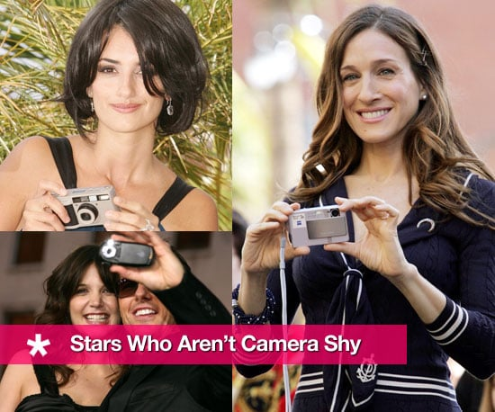 Stars Who Aren't Camera Shy