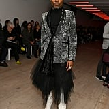 Billy Porter at the Matty Bovan Fall 2020 Show