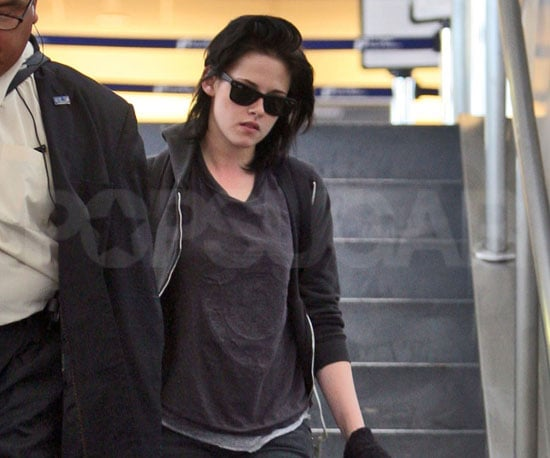 Photo of Kristen Stewart Arriving in LA at LAX