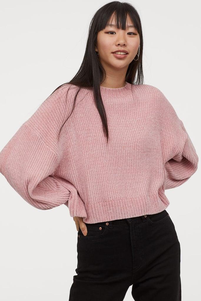 H\u0026M Chenille Sweater