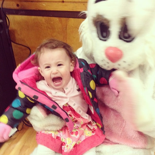 Hilarious Photos of Kids Scared of the Easter Bunny | POPSUGAR Moms