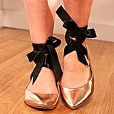 DIY: Give Your Flats a Ballet-Inspired Look!