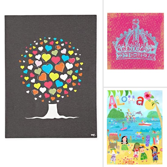 On the Wall: Pretty Art For Big Girl Rooms