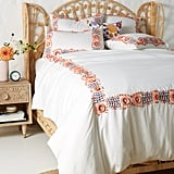Get the Look: Embroidered Petunia Duvet Cover
