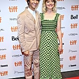 Alex Wolff and Imogen Poots at the Castle in the Ground Premiere