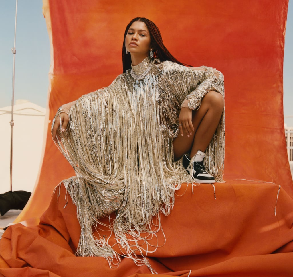 Zendaya's Stylist Law Roach Dressed Her For Her Elle Cover