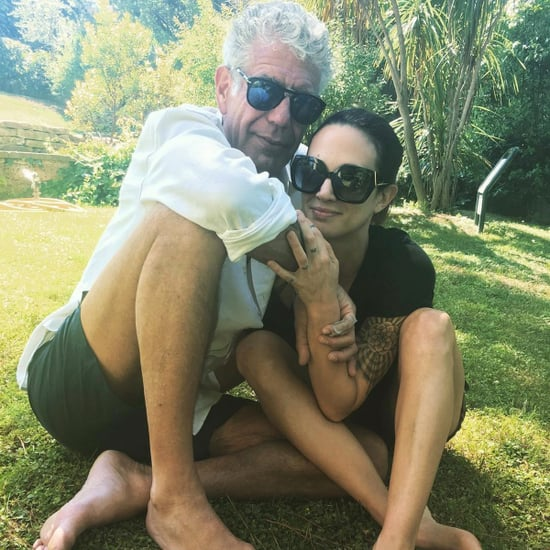 Anthony Bourdain Girlfriend May 2017