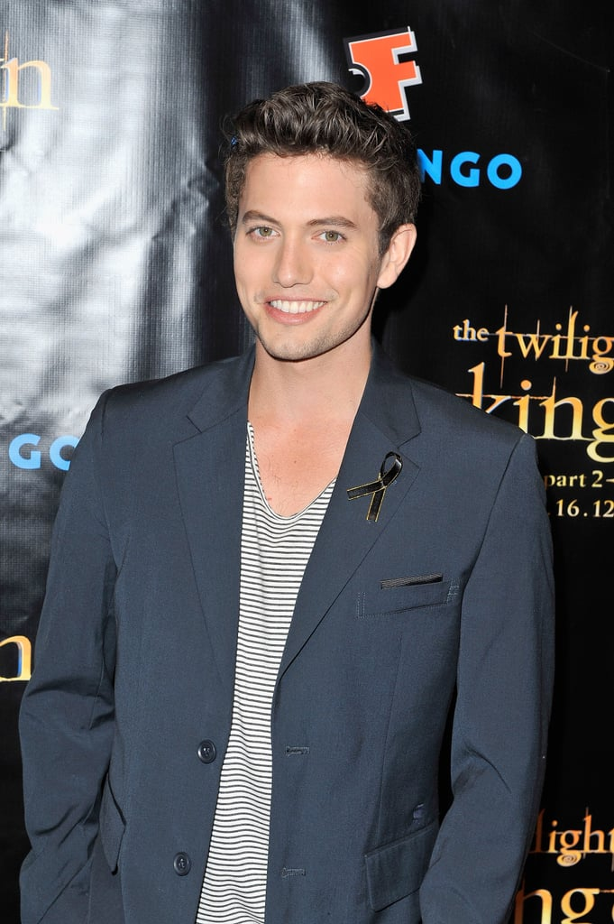 Jackson Rathbone posed at the Breaking Dawn Part 2 party at Comic-Con.