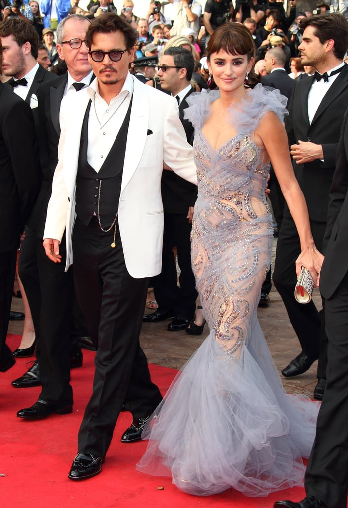 Johnny Depp and Penelope Cruz stepped onto the red carpet for the Pirates of the Caribbean: On Stranger Tides premiere during the 64th Annual Cannes Film Festival in 2011.