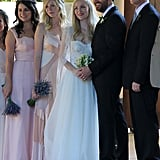 Kirsten Dunst was the maid of honor.