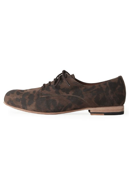 We love these loafers for every day.  Rachel Comey Peeper Leopard Oxford ($368)