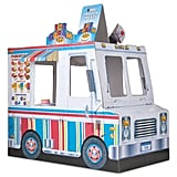 Melissa & Doug Ice Cream & Food Truck Indoor Playhouse