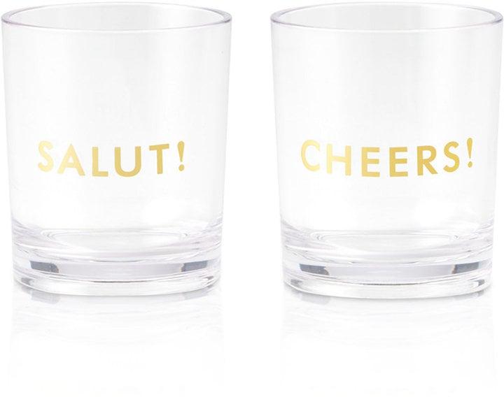 Kate Spade Raise a Glass Collection Tumbler Set