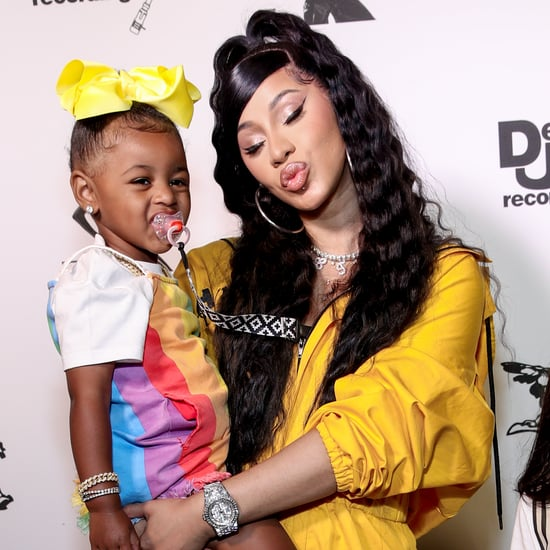 Cardi B's Daughter Has a Rainbow Bedazzled Hermès Birkin Bag