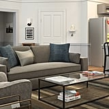 Seinfeld-Inspired Contemporary-Style Living Room