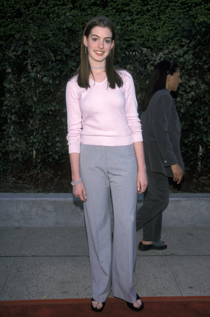 Anne was more girl next door than A-list actress in 1999.