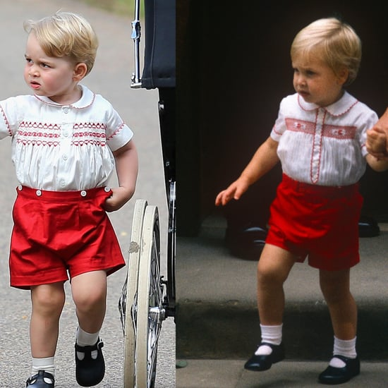 Prince George and Prince William Matching Outfits