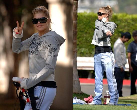 Rest Assured - Fergie's Still Working On Her Fitness