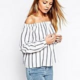 Asos Woven Off-the-Shoulder Top