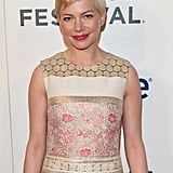 Michelle Williams looked ready for Spring at the Tribeca Film Festival.