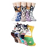 Women's Dog Cotton Sock Set