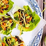 Sweet Potato, Black Bean, and Avocado Lettuce Wraps