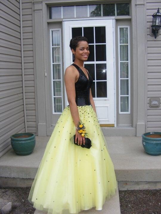 me at senior prom