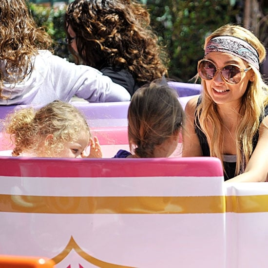 Nicole Richie and Harlow Madden Visit Disneyland