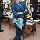 Hamish Bowles at the Astier de Villatte by John Derian event in New York. Source: Madison McGaw/BFAnyc.com