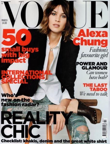 March 2010: Vogue UK