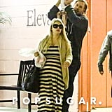 Jessica Simpson led the way for Eric Johnson and Maxwell in LA on Friday.