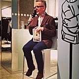 It's always fun seeing Simon Doonan, especially when he's talking about his new book.