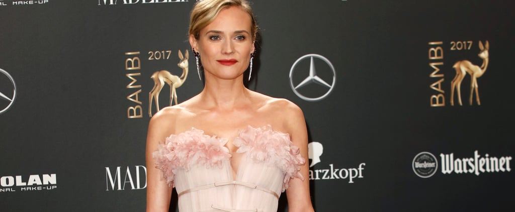Diane Kruger Is the Belle of the Ball in Her Pink Princess Dress