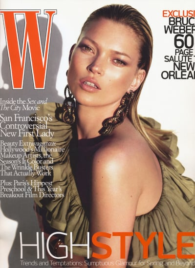 Fab Covers: Kate Moss on Cover of W Magazine