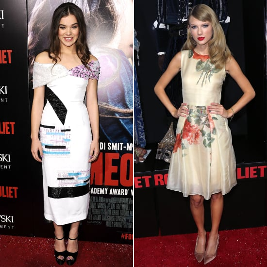 Taylor Swift and Hailee Steinfeld Romeo and Juliet Premiere