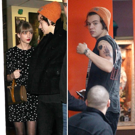 Harry Styles Gets A Tattoo With Taylor Swift Pictures Popsugar Celebrity