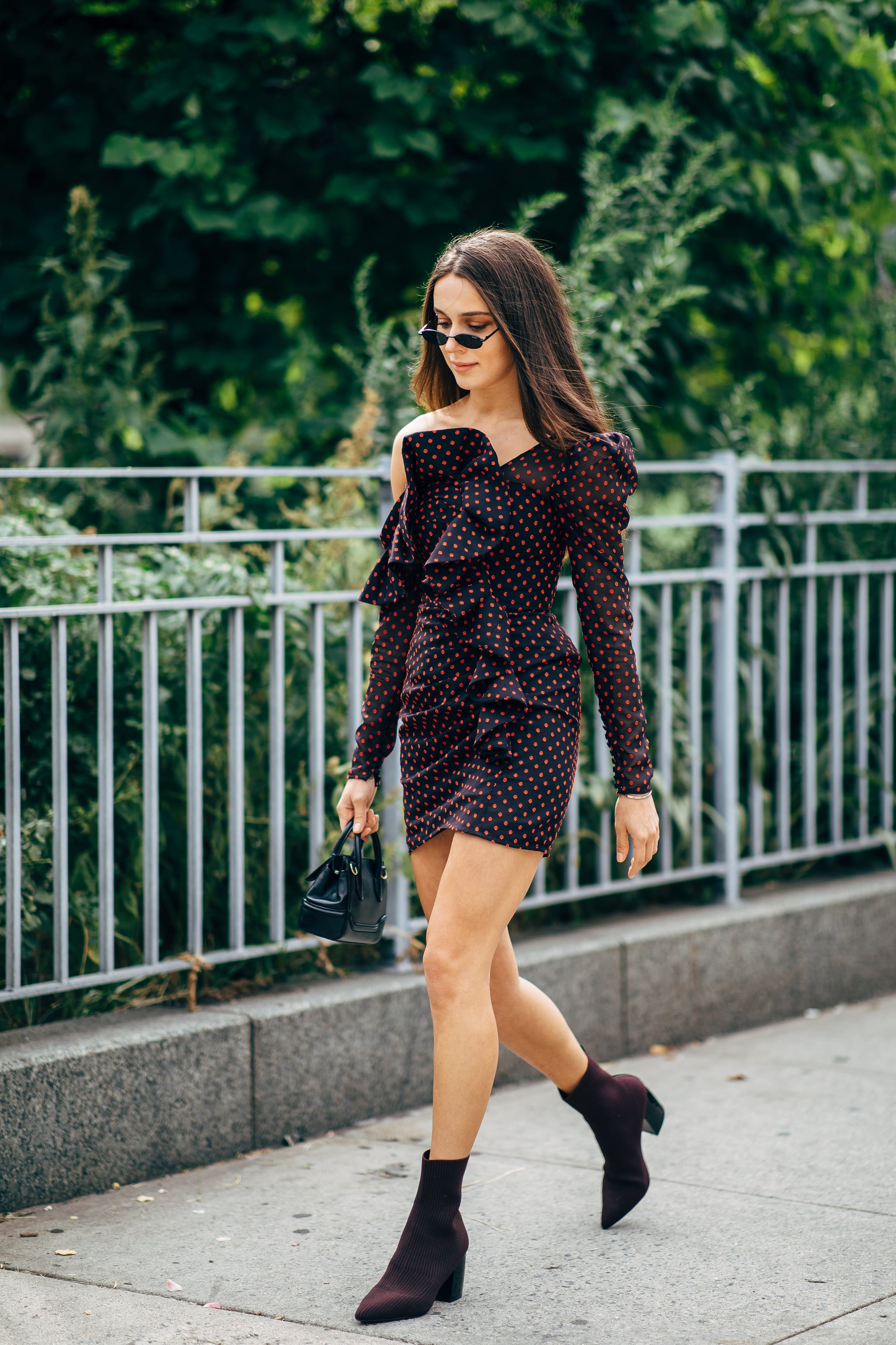 dress and booties