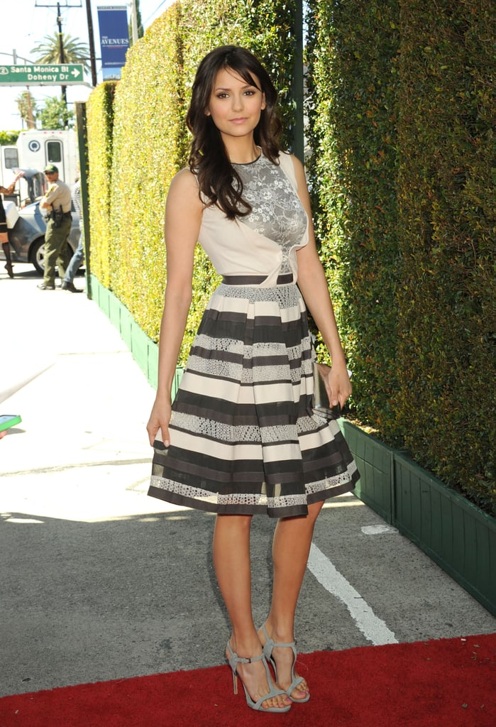 For The 10th Annual John Varvatos Stuart House Benefit Nina Dobrev Nina Dobrev Style Pictures