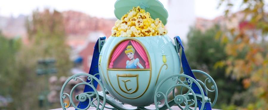 Disneyland Has a Cinderella's Carriage Popcorn Bucket