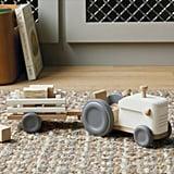 Wooden Tractor Set