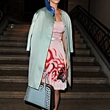 Katy Perry attended Miu Miu.