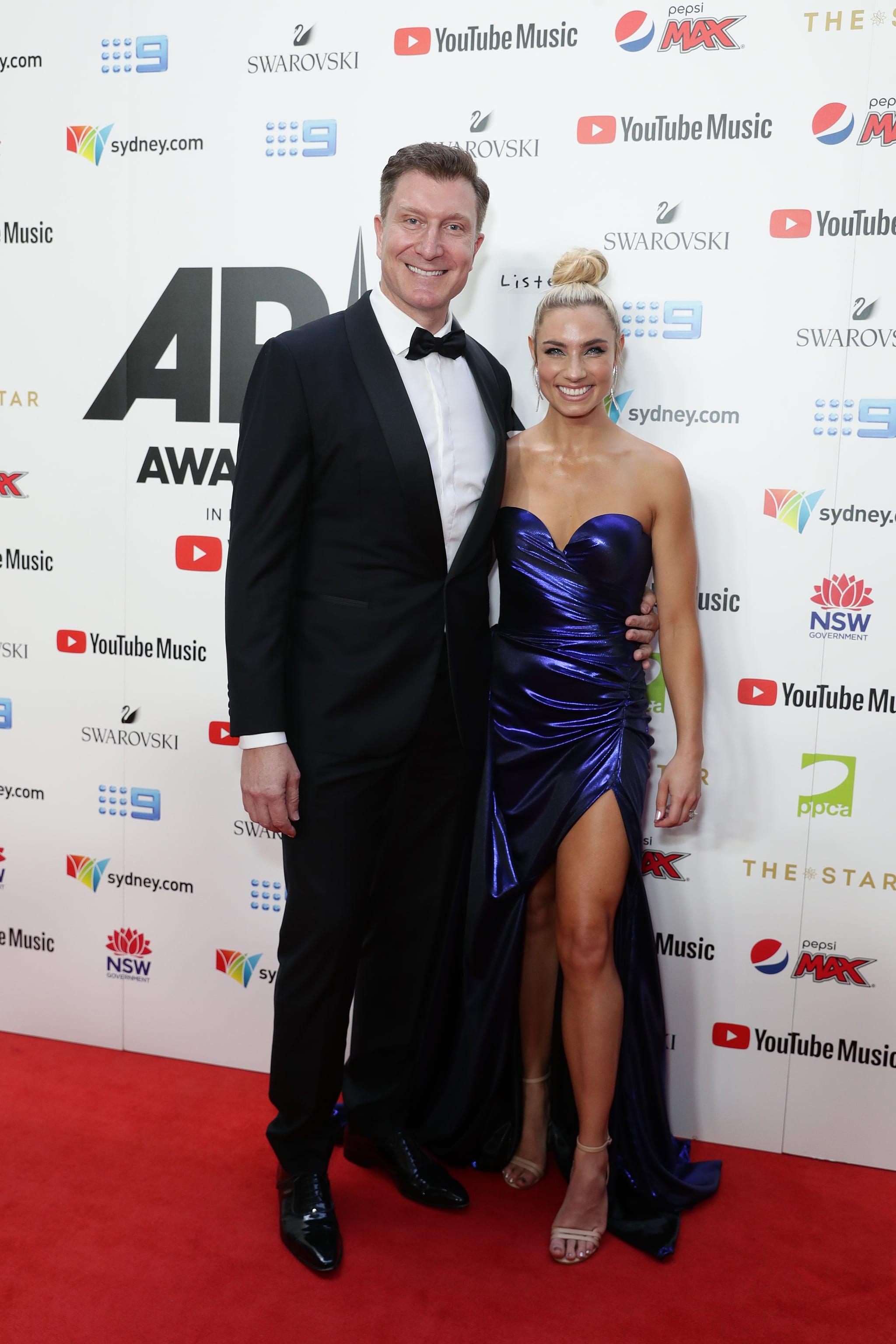 Simon Pryce And Lauren Hannaford 2019 Arias Red Carpet Photos Popsugar Celebrity Australia Photo 10