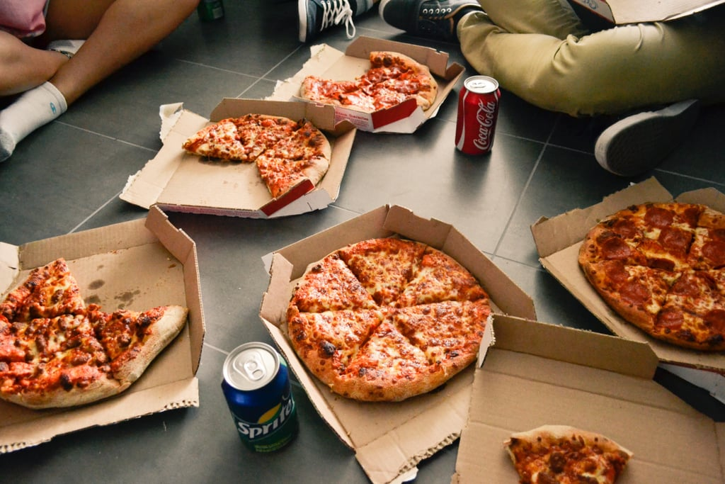 Throw a pizza party.