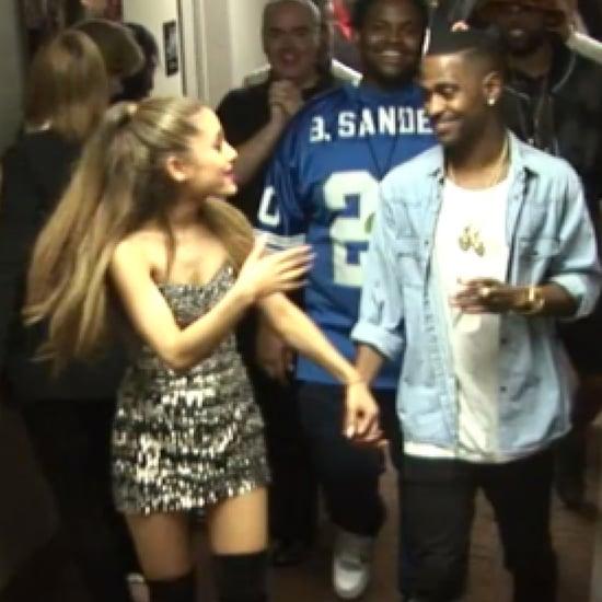 Ariana Grande and Big Sean Holding Hands at the VMAs
