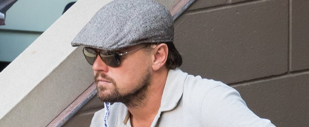 Leonardo DiCaprio at the US Open September 2016 | Pictures